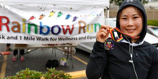 2020 Rainbow Run 5k & 1 Mile Walk for Wellness and Equality
