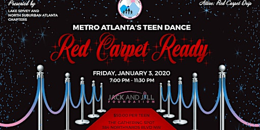 2020 Metro Atlanta's Teen Dance - Red Carpet Ready