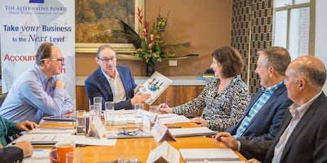 CEO / Business Owner Peer Board Taster   tickets
