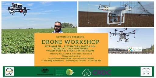 CottonInfo Drone Information Day - Pittsworth
