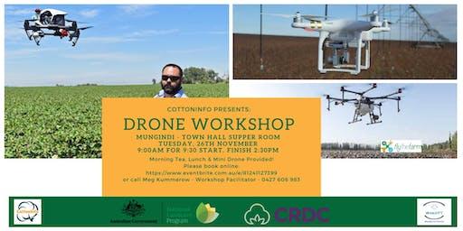 CottonInfo Drone Information Day - Mungindi