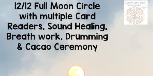 12/12 Full moon gathering celebration