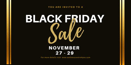 Black Friday Sale tickets