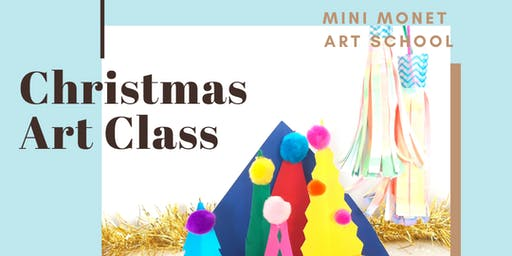 MINI MONET: Christmas Diorama & Paper Tassels
