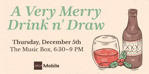 A Very Merry Drink n' Draw