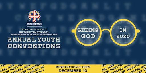 Summer Youth Retreat - 2020 (Years 7-9)