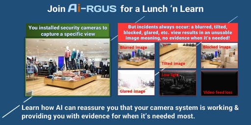 Ai-RGUS Lunch and Learn Dec 9, 2019