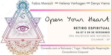 Retiro Open Your Heart ingressos
