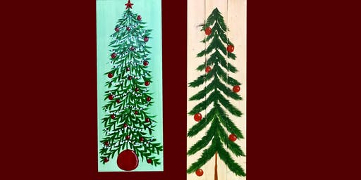 """Adult Open (18yrs+) """"Folk Art Tree"""" Canvas or Wood or Design what you want"""