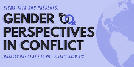 Gender Perspectives in Conflict