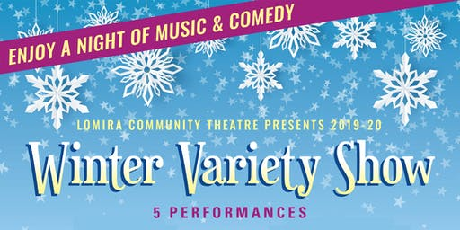 Winter Variety Show - TUESDAY, DEC 31 - NEW YEAR'S EVE