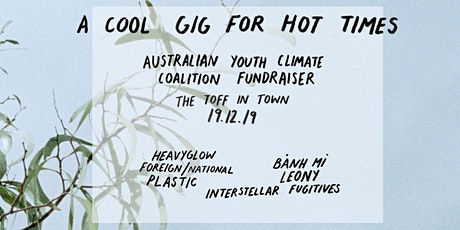 A COOL GIG FOR HOT TIMES - AYCC FUNDRAISER with PLASTIC + FRIENDS tickets