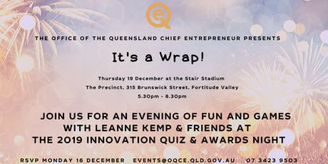 The OQCE End of Year Wrap Up. tickets
