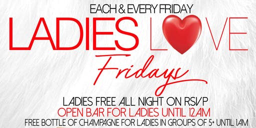 Ladies Love Fridays @ Jimmy's 38 NYC Every Friday