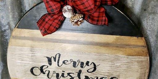 Cutest Wood Christmas Ornament