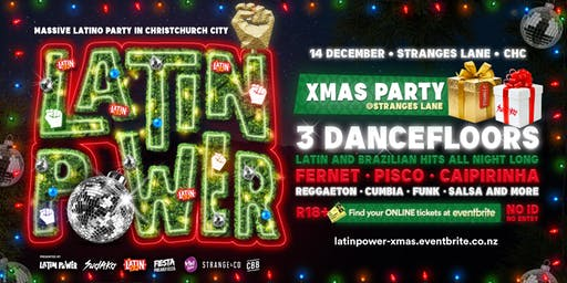 Latin Power Christmas Party - Christchurch