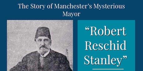 Robert 'Reschid' Stanley - Christina Longden - presentation & Book signing tickets