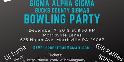 Sigma Alpha Sigma Bowling Party