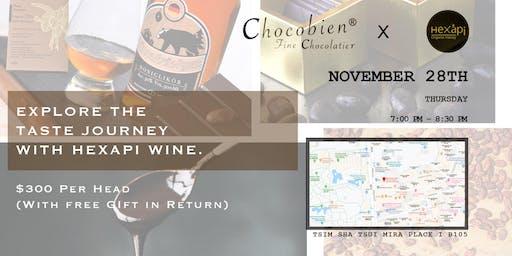 Chocobien Fine Chocolatier X Hexapi Honey Wine Tasting
