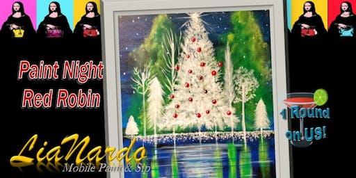 HOLIDAY PAINT NIGHT  w/LiaNardo Mobile Paint & Sip in Corona, CA