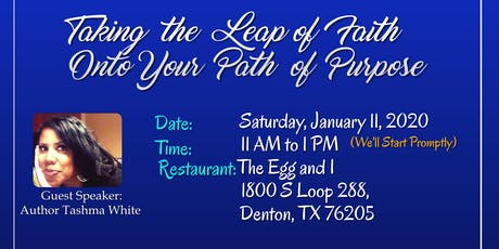 Taking the Leap of Faith Onto Your Path of Purpose tickets