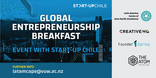 Global Entrepreneurship Breakfast Event with Start-Up Chile