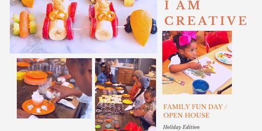Family Festive Fun Day : Open House