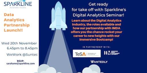 FREE: Digital Analytics Seminar with Sparkline!