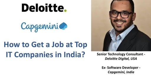 Learn How to Get a Tech Job at Companies like Deloitte in India?