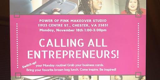 Entrepreneurs meet up