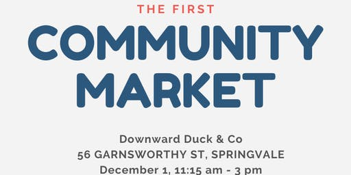 Downward Duck Community Market