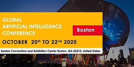 Ambassador Registration - Global Artificial Intelligence Conference Boston October 2020 tickets