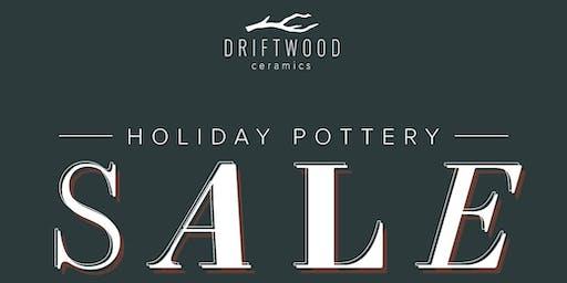 Driftwood Ceramics Holiday Sale