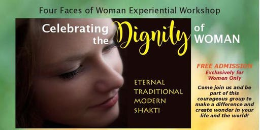 Four Faces of Woman Experiential Workshop-Celebrating the Dignity of Woman