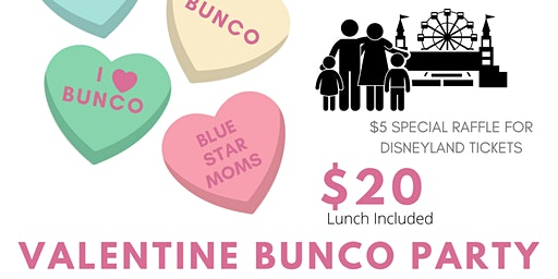 VALENTINE BUNCO PARTY