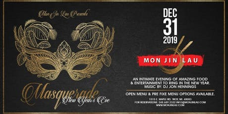 Masquerade New Year's Eve at Mon Jin Lau tickets