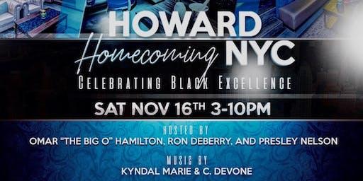 Howard Homecoming NYC HBCU Reunion | Saturday, Nov 16th | 4pm