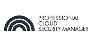 CCC-Professional Cloud Security Manager 3 Days Training in Boston, MA