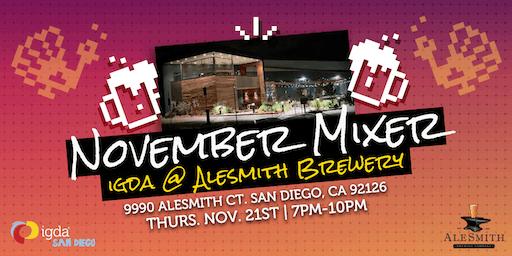 IGDA SD | November Mixer