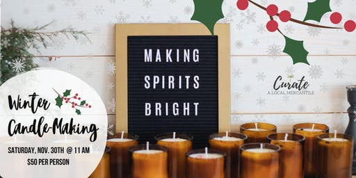 Winter Candle-Making