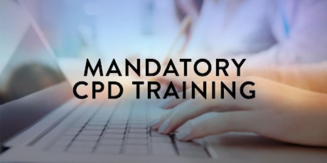Mandatory CPD Training (Metro Offices) tickets