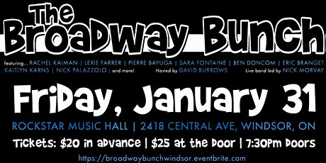 The Broadway Bunch tickets