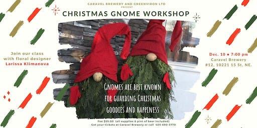 Christmas Gnome Workshop