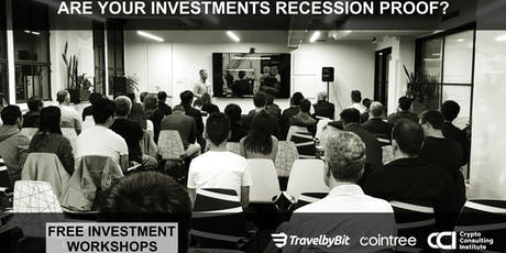 Are Your Investments Recession Proof? Learn To SAFELY Diversify Into Cryptocurrency tickets