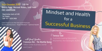 Mindset and Health for Successful Business