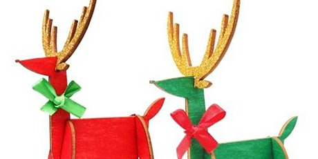 Christmas Craft - Reindeer Ornaments tickets