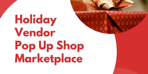 Holiday Vendor Pop Up Shop Marketplace at Brass Mill Center Mall