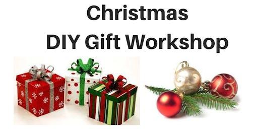 Christmas DIY gift workshop