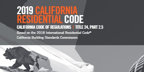 California Residential Code Updates