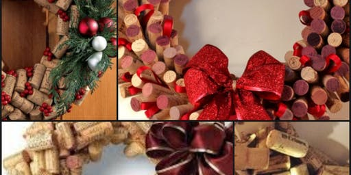 Wine Cork Wreath  At Lambstone